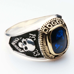 College Ring 002 Blue
